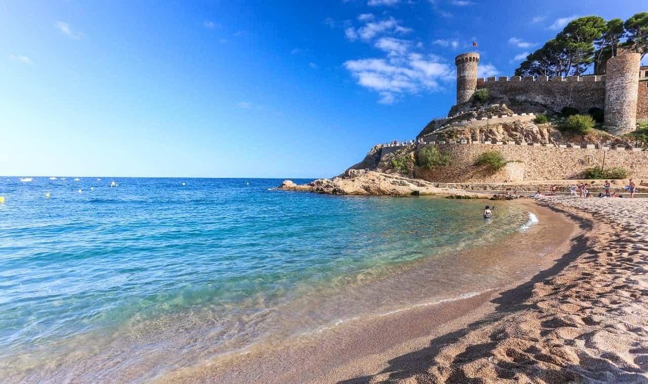 road cycling tour catalonia tossa de mar